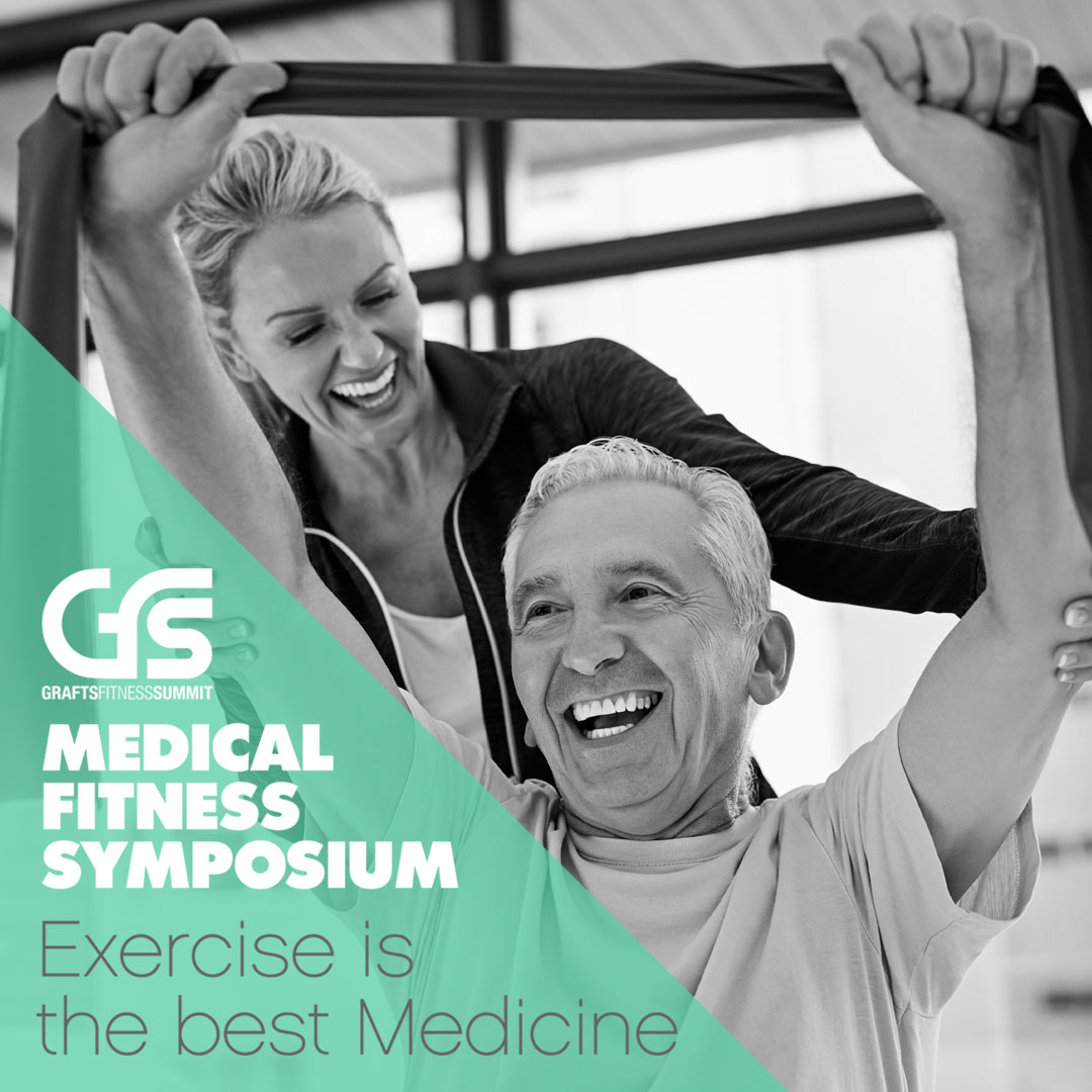 6th GFS 2018 - Medical Fitness Symposium poster