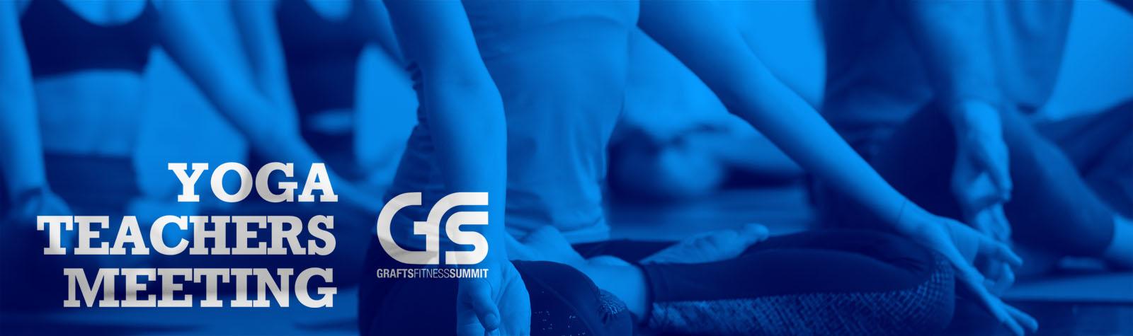 7th GFS 2019 - Yoga Teachers Meeting banner
