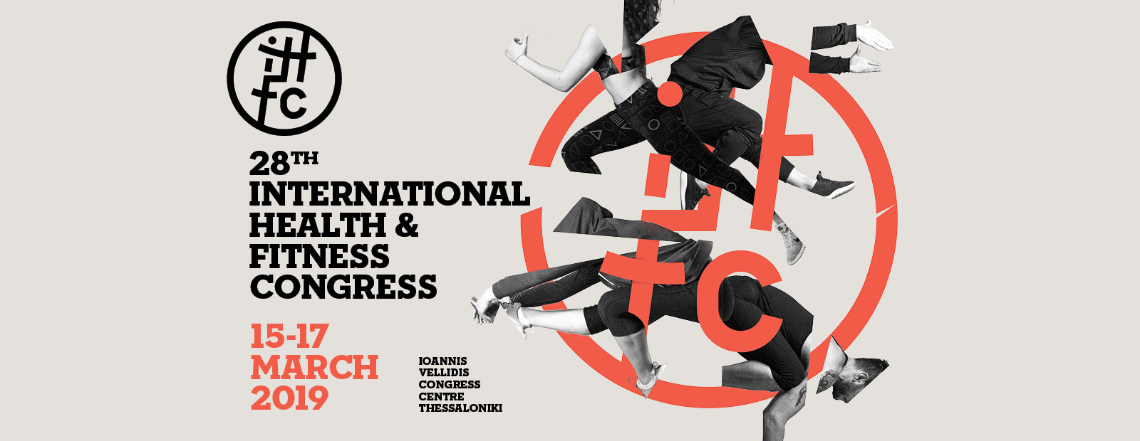 28th International Health & Fitness Congress by Grafts Hellas banner
