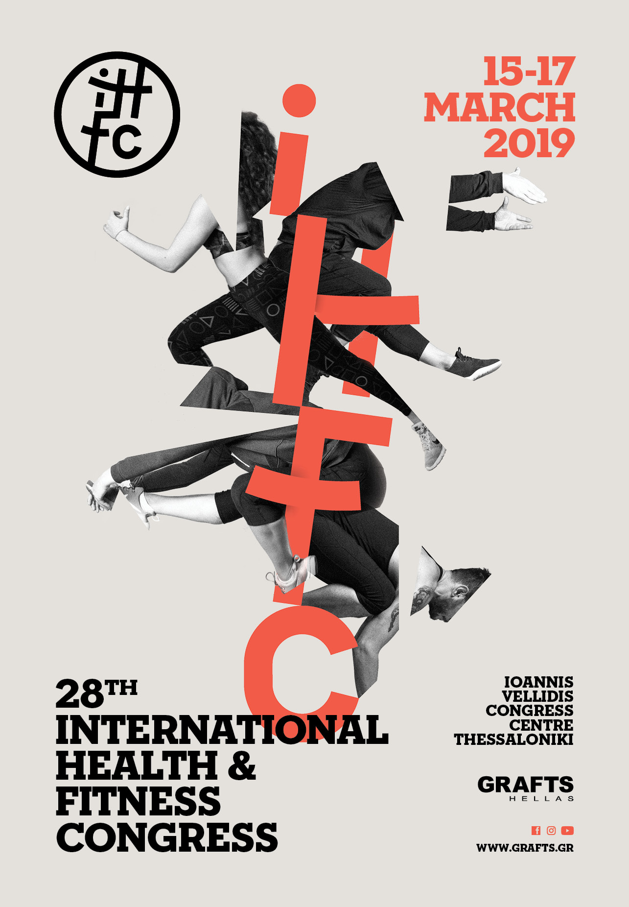 28th International Health & Fitness Congress by GRAFTS Hellas poster