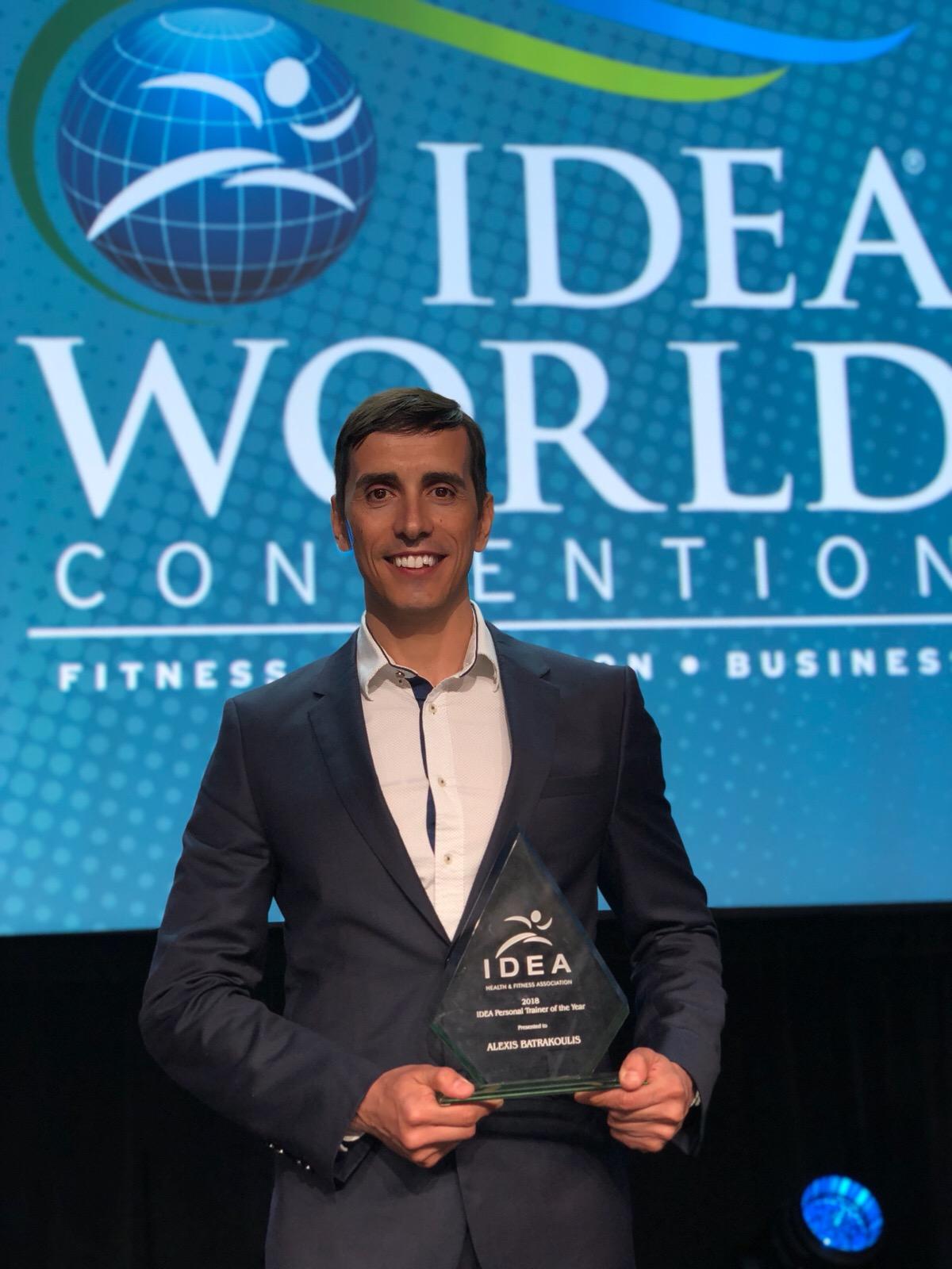 Αλέξης Μπατρακούλης - Τομεάρχης Personal Training της GRAFTS - 2018 IDEA Personal Trainer of the Year - φωτογραφία 1