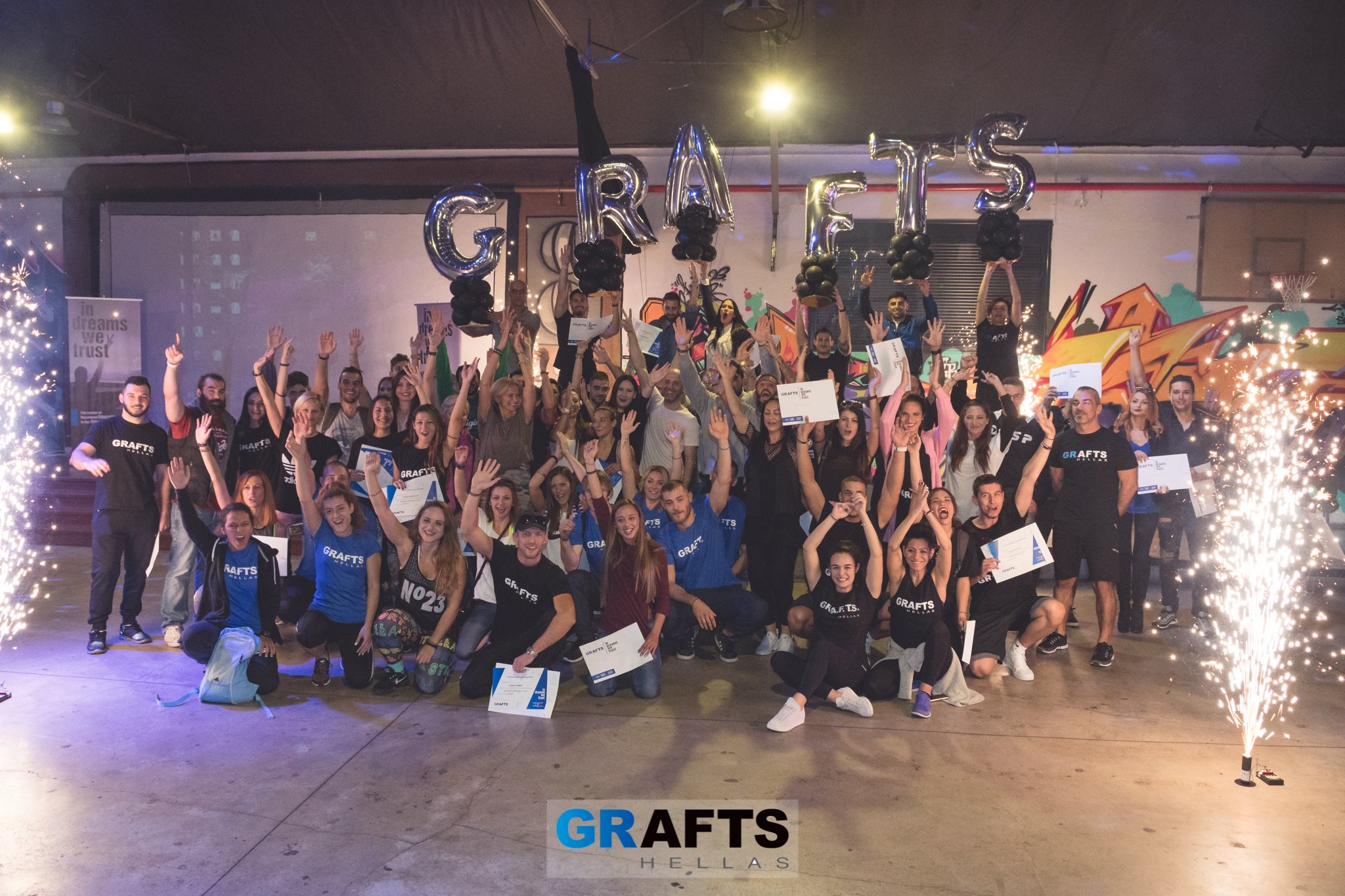 GRAFTS Hellas - Thessaloniki graduation 2017 - Photo 1