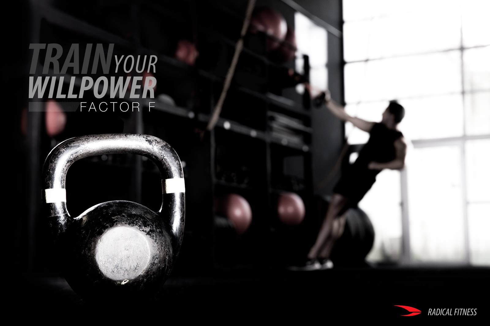 Radical Fitness - FACTOR F poster