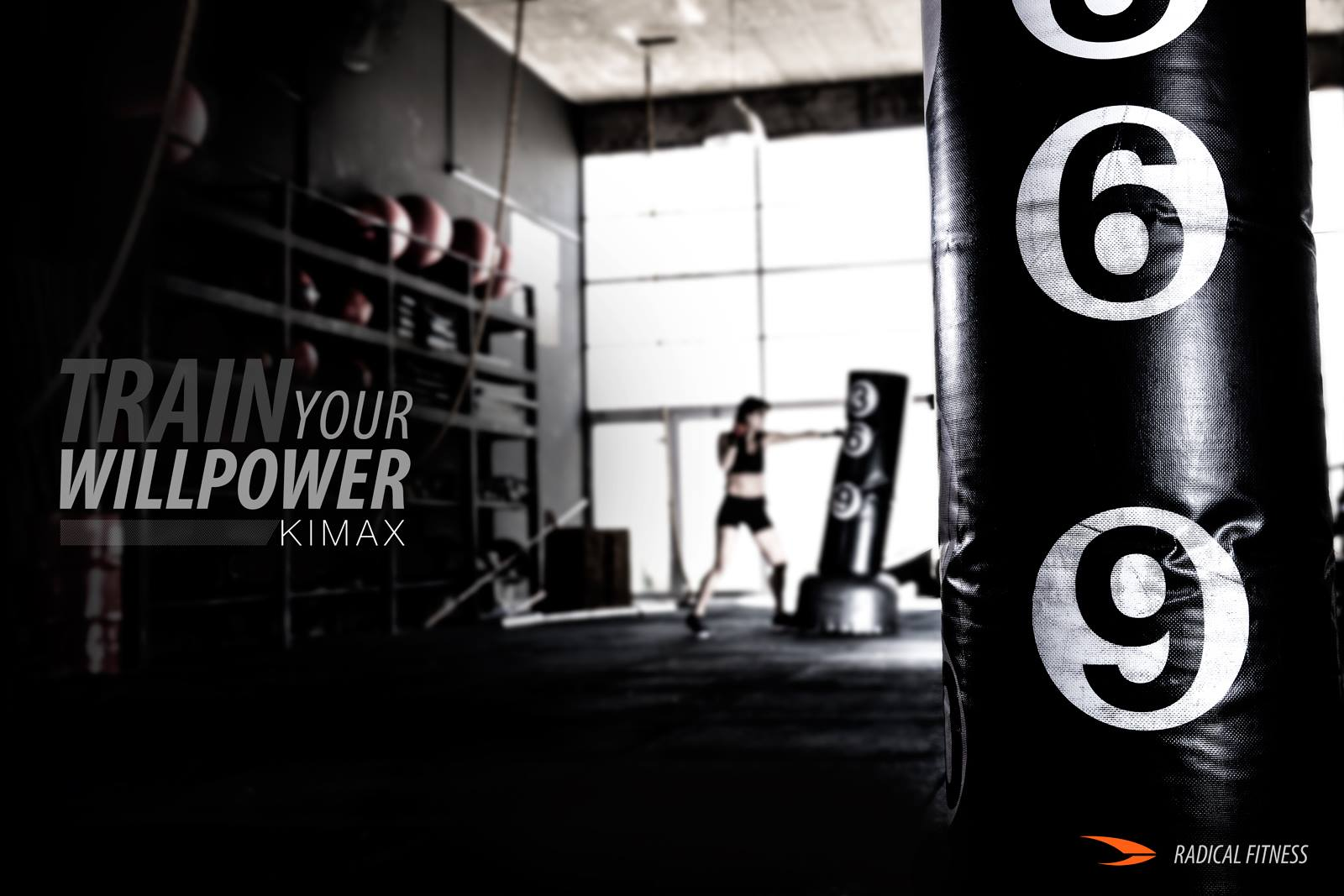 Radical Fitness - KIMAX poster