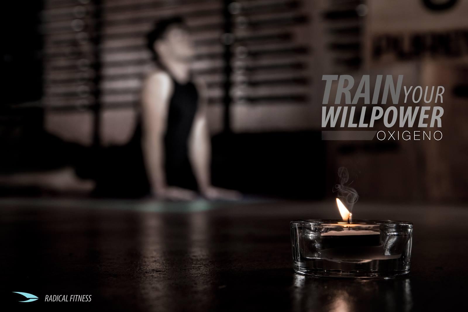 Radical Fitness - OXIGENO poster