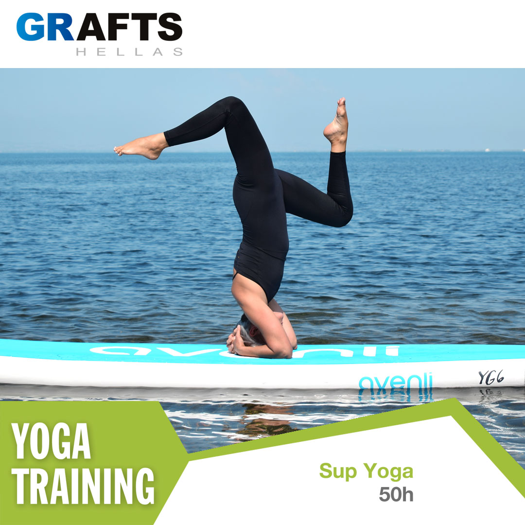 Grafts Hellas poster - SUP Yoga Instructor