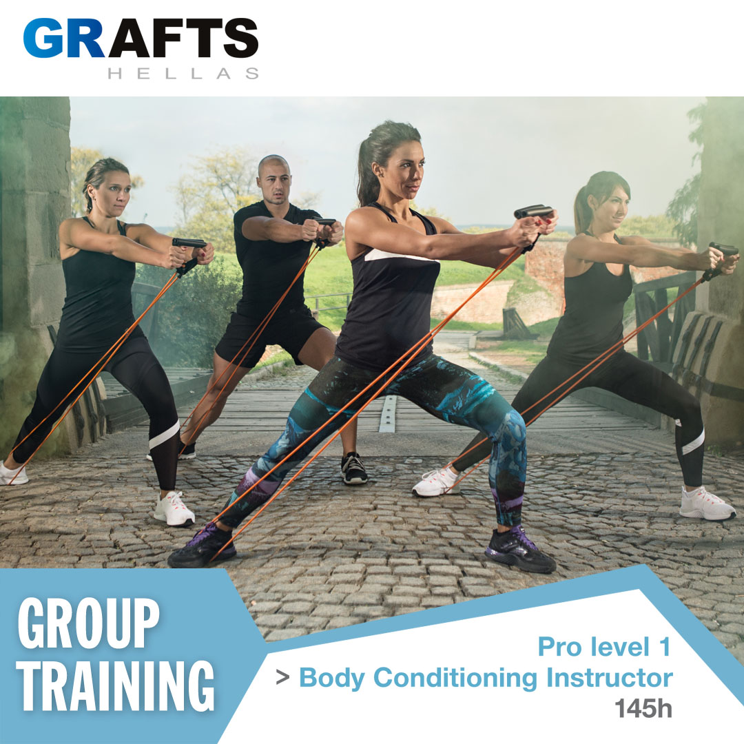 Grafts Hellas poster - Body Conditioning Instructor - Pro level 1
