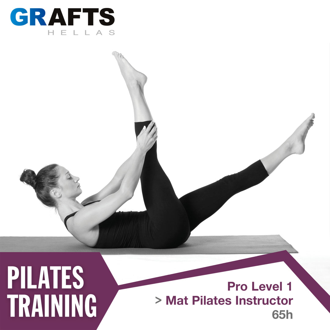 Grafts Hellas poster - Mat Pilates Instructor - Pro level 1
