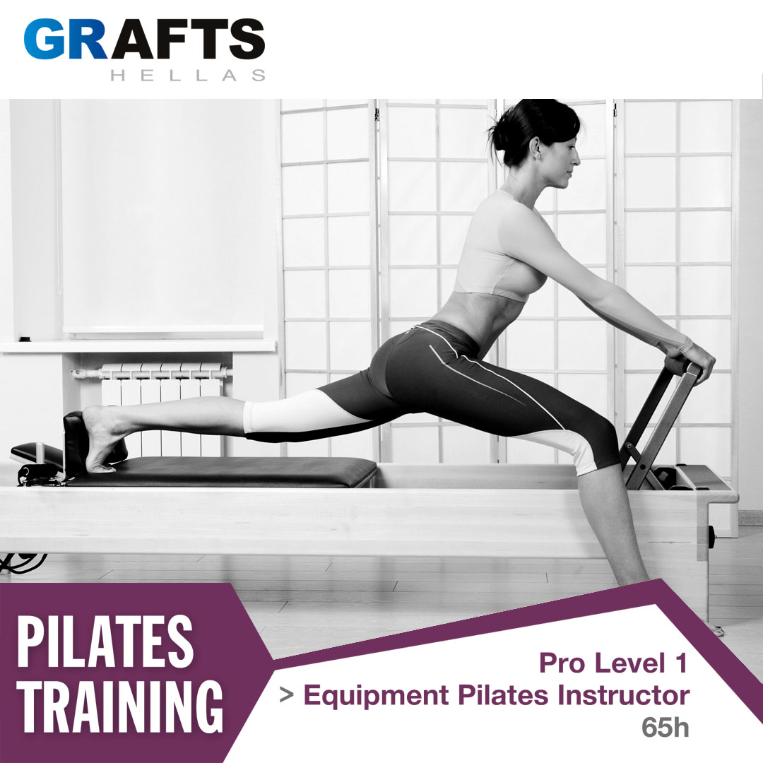Grafts Hellas poster - Equipment Pilates Instructor - Pro level 1