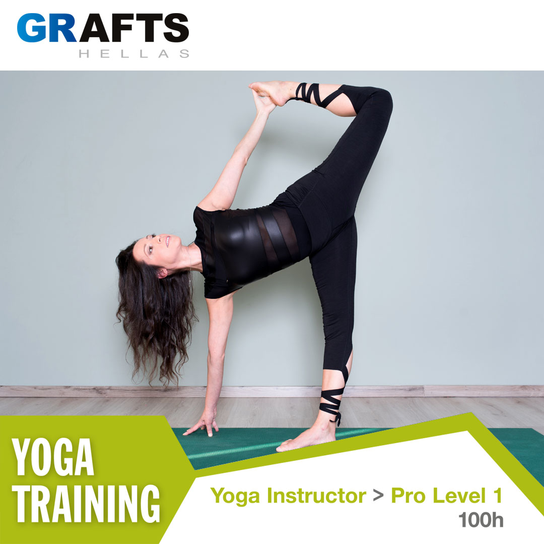 Grafts Hellas poster - Yoga Instructor - Pro level 1