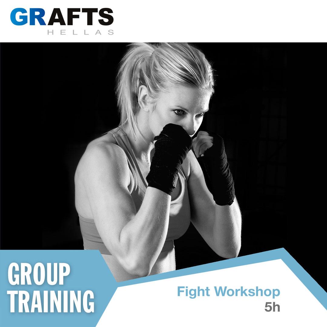 Grafts Hellas poster - Fight Workshop