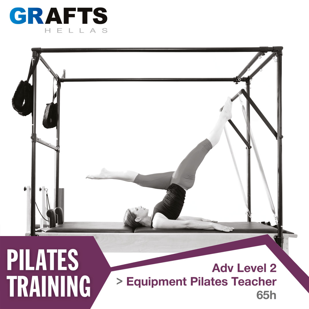 Grafts Hellas poster - Equipment Pilates Teacher - Adv level 2