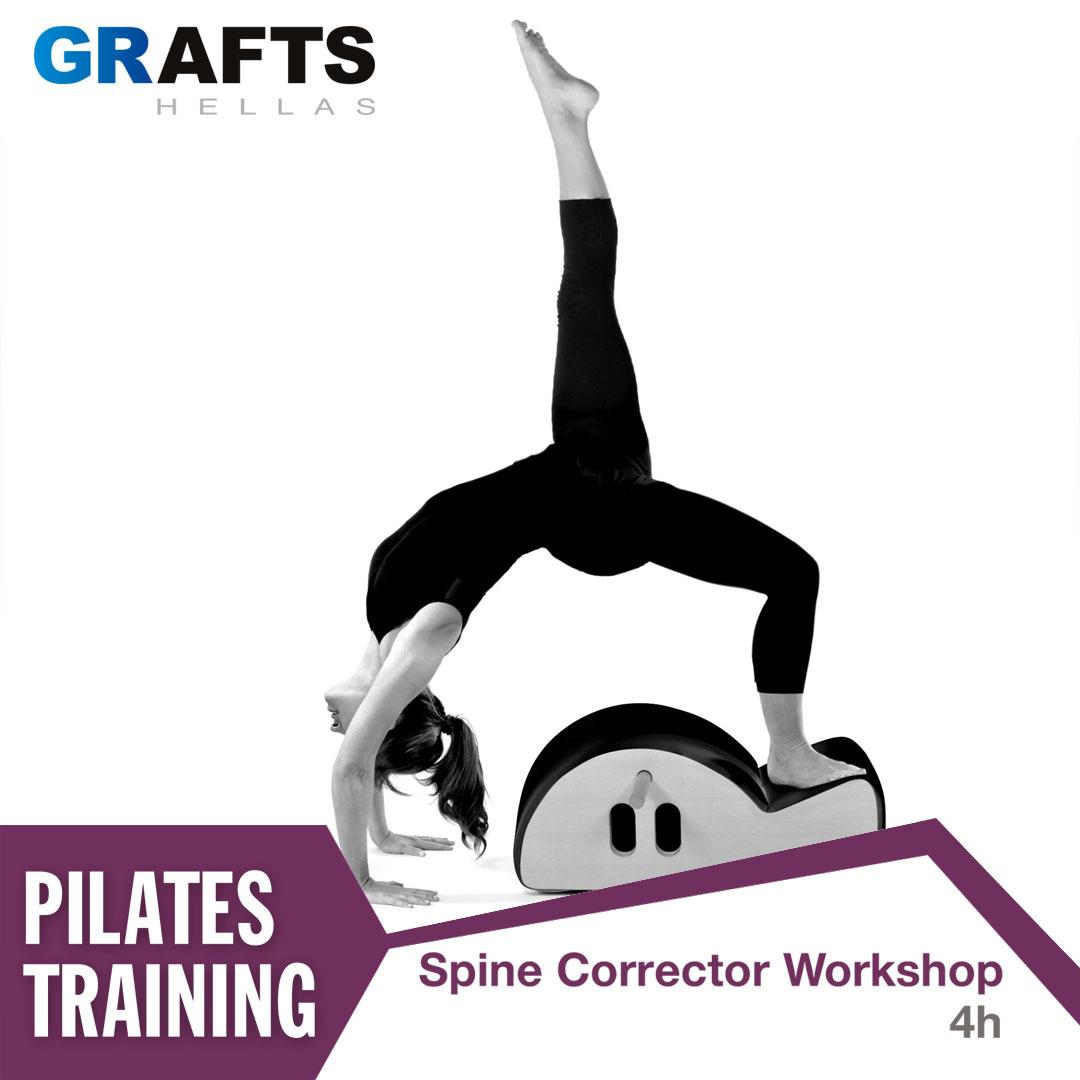 Grafts Hellas poster - Spine Corrector Workshop
