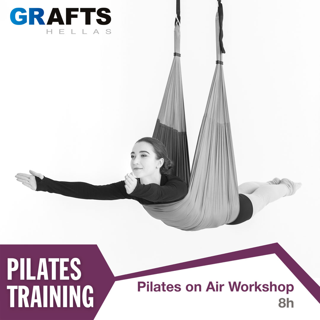 Grafts Hellas poster - Pilates on Air Workshop