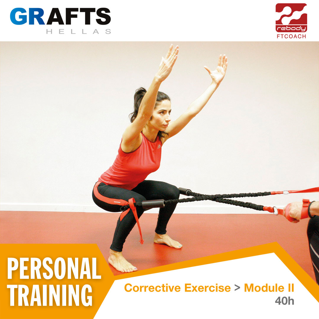 Grafts Hellas poster - Corrective Exercise Instructor by FT COACH - Module II