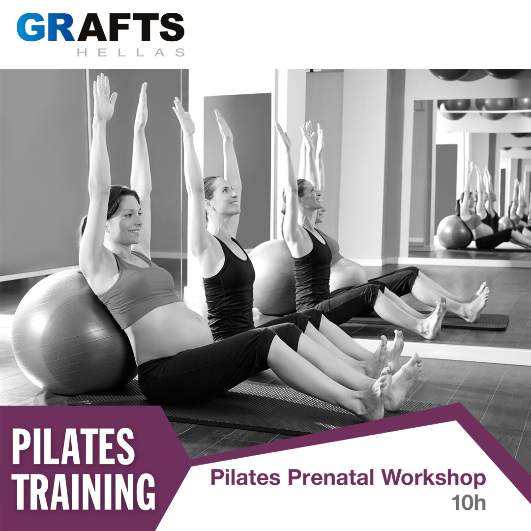 Grafts Hellas poster - Pilates Prenatal Workshop